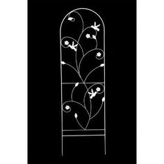 Chantilly Trellis Size: 4' by Arcadia Garden Products. $30.44. TR10 Size: 4' Features: -Great for any garden.-Weather resistant. Construction: -High quality construction. Dimensions: -4' Dimensions: 9.8'' H x 3.9'' W x 15.7'' D.-5' Dimensions: 12.1'' H x 3.9'' W x 18.9'' D.-6' Dimensions: 14.6'' H x 3.9'' W x 21.9'' D.