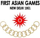The 1951 Asian Games, officially known as the First Asian Games, was a multi-sport event celebrated in Delhi, India from 4 to 11 March 1951. The Games received names like First Asiad and 1951 Asiad by the president of the organising committee Anthony de Mello. A total of 489 athletes representing 11 Asian National Olympic Committees (NOCs) participated in 57 events from eight sports and discipline.
