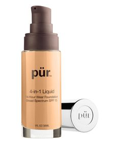 Take a look at this Light Tan 4-in-1 Liquid Foundation today!