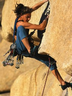 If you wonder why most of my climbing pictures are of women then you haven't paid much attention to what I have to work with. This is Pinterest.