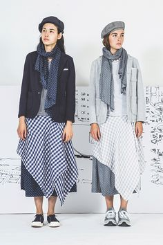 Present Drawing, Japanese Outfits, Japanese Clothing, Engineered Garments, Midi Skirt, Engineering, Knitting, Skirts, Pants