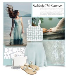 """Suddenly..."" by tinayar ❤ liked on Polyvore featuring Zimmermann, Tory Burch, Anya Hindmarch and DKNY"