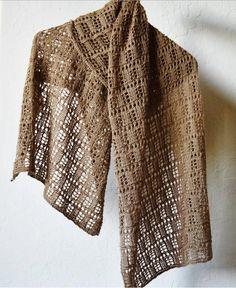 Vintage Elegance Lacy Shawl | AllFreeKnitting.com