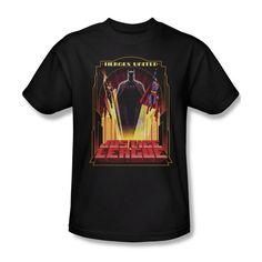 Sons of Gotham JLA Shirt M Green Lantern #1 Distress Adult Ringer T
