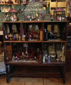 Wonderful gorgeous large German doll's house 5 rooms 1900/1915