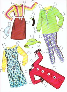 Dress-Up Dolls Paper Dolls - Part 5