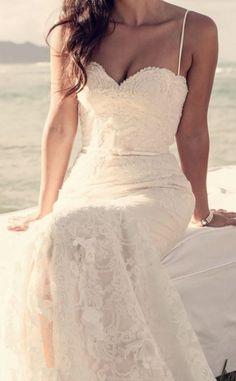 Simple Beach Wedding Dresses for 2015 Beach Weddings
