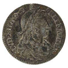 374 1664B FRANCE 1/12 ECU COIN Estimate: $150 - $250 XF Details French Coins, France 1, World Coins, Coin Collecting, 17th Century, Seals, Auction, Bronze, Rings