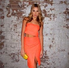 The Acid Rain Strapless Top   Skirt as seen on Laura Dundovic is now  available in Boutiques and Online xx 22f337610