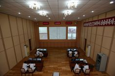 """North Korean """"satellite"""" Control Room"""