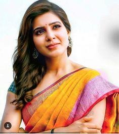 Exclusive stunning photos of beautiful Indian models and actresses in saree. South Indian Actress Photo, Indian Actress Photos, South Actress, Indian Actresses, Actress Pics, Samantha In Saree, Samantha Ruth, Most Beautiful Indian Actress, Beautiful Actresses