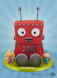 Ben and Holly's Little Kingdom - Robot | Tracey | Flickr