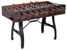 Vintage foosball table
