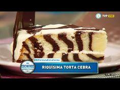 Encontrá los ingredientes y procedimientos de la receta de la torta cebre rellena en http://www.cocinerosargentinos.com/recetas-tortas/2827/Torta-cebra-relle...