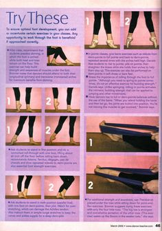Foot Strength Exercises for Point, Soft Shoe, and Barefoot Fitness Workouts, Zumba Fitness, Workout Routines, Workout Videos, Dance Teacher, Dance Class, Ballet Stretches, Teacher Magazine, Dance Technique