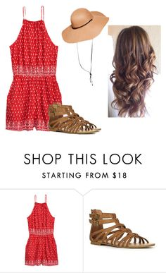 """❤️❤️"" by hannahmcpherson12 ❤ liked on Polyvore featuring H&M and JustFab"