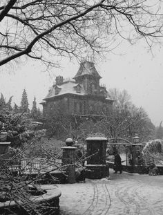 "englishsnow: "" { phantom manor - disneyland paris } """