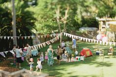 simple and gorgeous aussie b-day party
