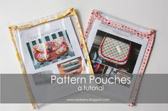 Zaaberry: Pattern Pouch Tutorial