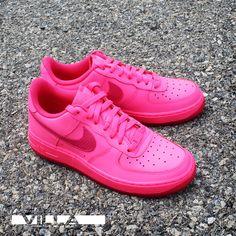 official photos 354d8 07cda Nike Air Force 1 GS Hyper Pink  Sole Collector Air Force 1, Nike Air