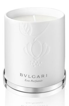 $65 BVLGARI 'Eau Parfumée au thé blanc' Candle available at #Nordstrom