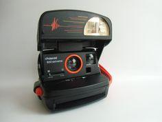 Vintage Polaroid - Polaroid 600 Extreme - Sofortbild Kamera - ein Designerstück von susduett bei DaWanda