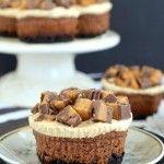 Chocolate Reese's Cheesecake