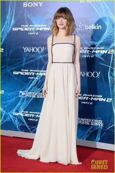 Emma Stone graces the red carpet at the premiere of her new movie The Amazing Spider-Man 2 on Thursday evening (April 24) at the Ziegfeld Theater in New York City.…