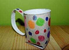 hrníček z roličky od toaletního papíru Latte, Mugs, Tableware, Dinnerware, Tumblers, Tablewares, Mug, Dishes, Place Settings