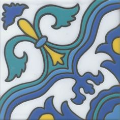 6x6 Catalina Tile Reproductions