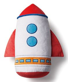 Look what I found on #zulily! Out of This World Rocket Pillow #zulilyfinds