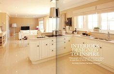 5 bedroom detached house for sale in Sandy Lane, Buckshaw Village, Chorley, - Rightmove. Open Plan Kitchen Diner, Open Plan Kitchen Living Room, New Kitchen, Kitchen Dining, Kitchen Cabinets, Kitchen Ideas, Redrow Homes, House And Home Magazine, My Dream Home