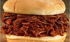 BBQ Pulled Pork Loin -Pressure Cooked