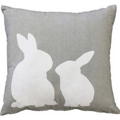 Mulberi Rabbits II Cushion