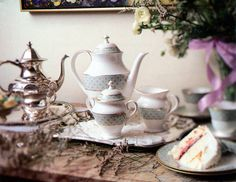 Waterford: Fitzpatrick Green Coffee Service