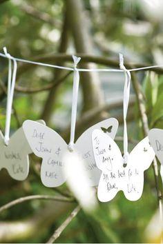 Idea papallones ¿Libro de firmas? - TELVA