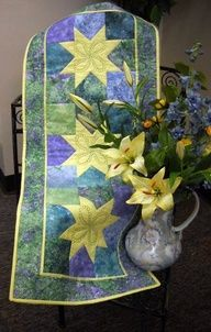 Table Runner featuring Stonehenge fabric