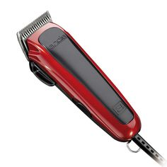 Andis Easy Cut Hair Clipper Set - Red/ Black (20 Piece), Red/Black