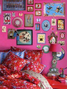 €315 Memories- tapetti Pinkki