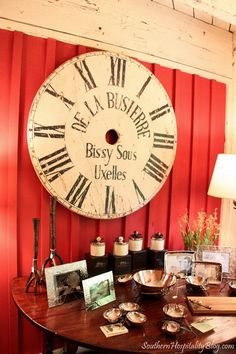 I have been looking for a large clock like this for over a year. I want