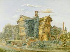 MORETON OLD HALL, by George Theaker, c