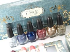 Sephora Disney Cinderella A Brush With Fate Nail Polish Set