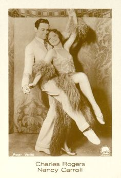 Charles Rogers and Nancy Carroll