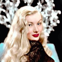 Veronica Lake in a publicity still for Star Spangled Rhythm (1942)