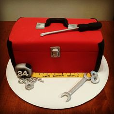 Tool Box Cake - Birthday Cake for a Guy