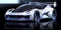Bertone Dianche 03 sketch by Denis Zhuravlev Futuristic Motorcycle, Futuristic Cars, Car Design Sketch, Car Sketch, Electric Motor, Electric Cars, Cool Sports Cars, Cool Cars, Flying Vehicles