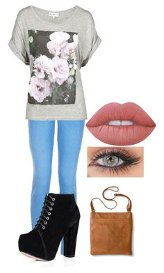 """Untitled #132"" by cannonsamiya on Polyvore featuring Wildfox, Merona and Lime Crime"