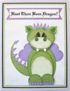 How cute is this?!?! http://www.theartfullhand.com/images2/punchdragon.jpg