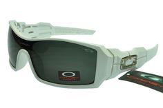 bda0cd53c54 Oakley Flak Jacket Sunglasses White Frame Black Lens 0355 Stylish Sunglasses