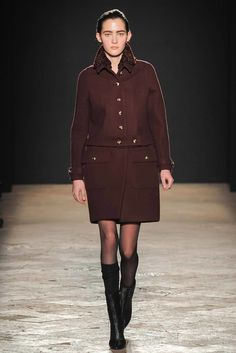 Francesco Scognamiglio Fall 2014 Ready-to-Wear Fashion Show - Emma Waldo